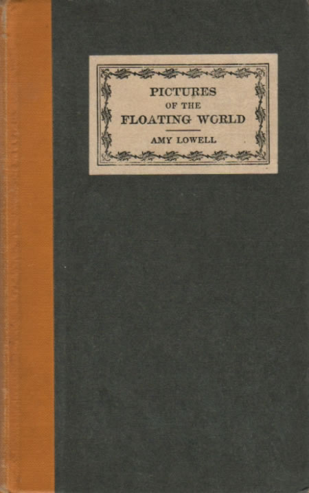 an introduction to the influence of keats poetry on amy lowell Complete poetical works of amy lowell, introduction by louis untermeyer, houghton mifflin, 1955 selected poems of amy lowell, edited by melissa bradshaw and adrienne munich, rutgers university press, 2002.